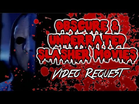 Obscure & Underrated Slasher Movies - Viewer Request streaming vf