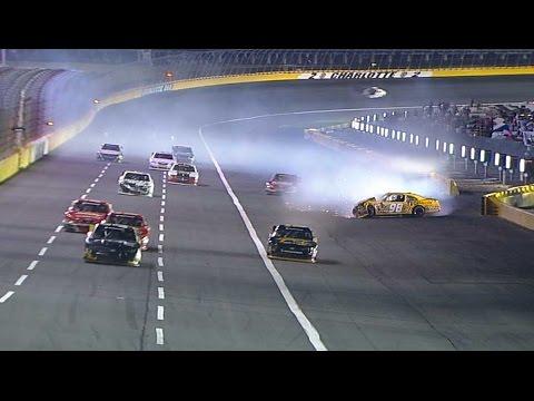 Corey Lajoie Hard Crash @ 2014 NASCAR Nationwide Charlotte