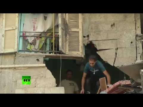 AFTERMATH: Gaza homes destroyed in deadly Israeli airstrike