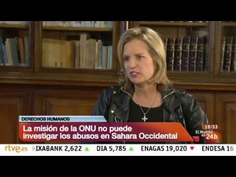 Kerry Kennedy habla sobre DD.HH. en el Sahara