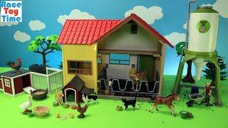 Schleich Farm Animals Playsets - Fun Animal Toys For Kids
