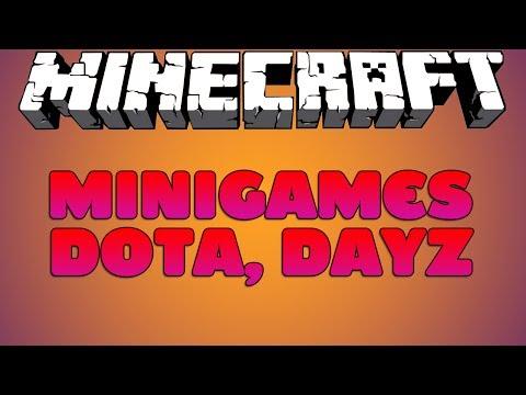 Minecraft SERVER 1.7.2/1.7.4, DOTA, DayZ, Super Craft Bros Brawl