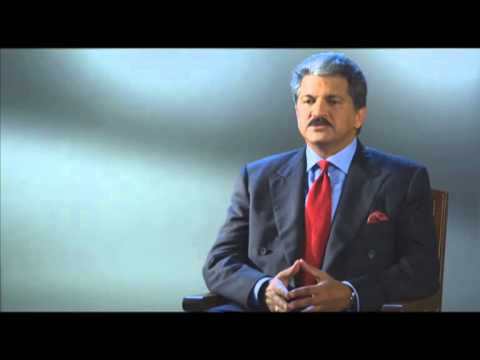 A Message from Mr. Anand Mahindra - Chairman & MD, Mahindra Group