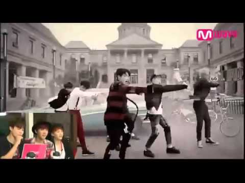 [ENG] 141023 BTS React To WAR OF HORMONE Mv
