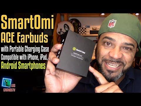 SmartOmi ACE Bluetooth Earbuds Apple Alternative 🎧 : LGTV Review