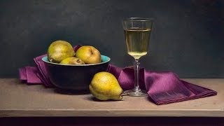"""Old master"" style still life painting time lapse demo"