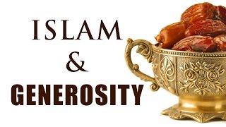 Islam and Generosity : Mr. Sadruddin Virani