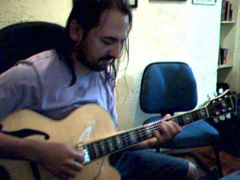 Jazz Guitar Green Dolphin Street Improvisation