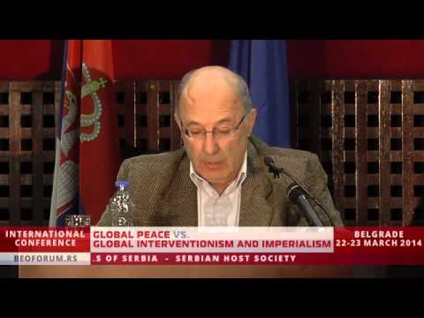 STEFAN KARGANOVIĆ (SERBIA) - (Global Peace vs. Global Interventionism and Imperialism)
