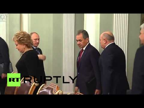 Russia: Putin discusses escalation in Donbass with National Security Council