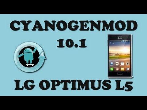 Instalar CyanogenMod 10.1 + CWM en LG Optimus L5 [LINKS]