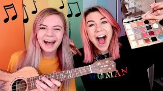 Singing Our Makeup Routine! ft. Jessie Paege