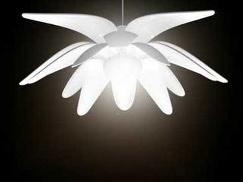 LULL - A lamp that open and closes like a flower
