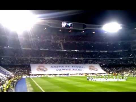 Uefa Champions League - Real Madrid Vs. Manchester United - Anthem Bernabeu.3gp video