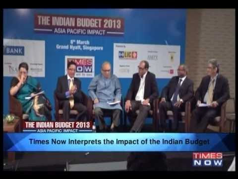 The India Budget 2013 - Asia Pacific Impact (Part 1)