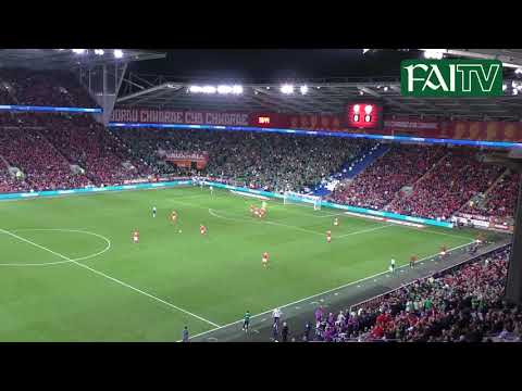 Incredible Angle of James McClean's Goal