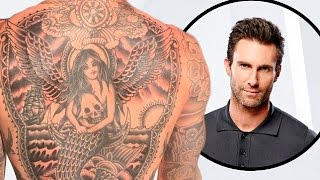 Adam Levine Teased Fans With a Glimpse of His Giant Back Tattoo
