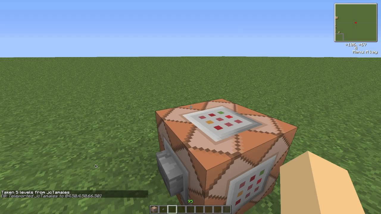 Build A House  Using A Command Block