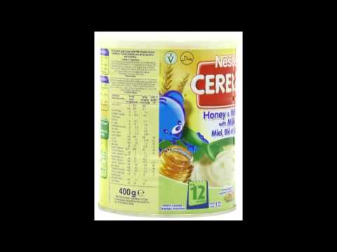 Nestle Cerelac, Honey And Wheat With Milk video