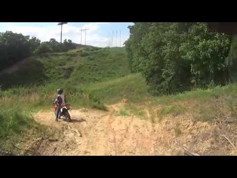 DRZ400s and xr650l dual sport ride