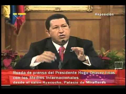 (2006) Rueda de prensa completa del Presidente Hugo Chávez con medios internacionales