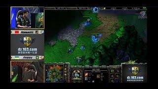 WarCraft 3 Gold 2017 Foggy(NE) vs Romantic(HU) c Майкером