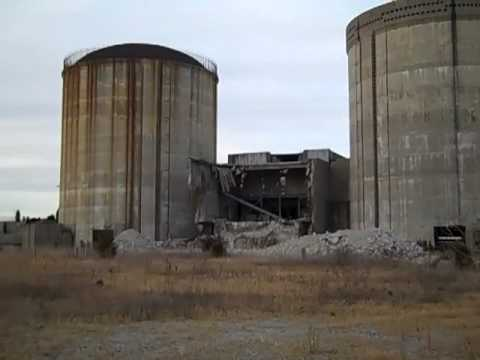 Vernacular Architecture on Marble Hill Nuclear Power Plant  Abandoned