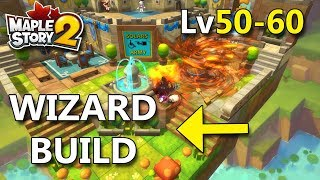Maplestory 2 - End Game Wizard Build Lv50-60