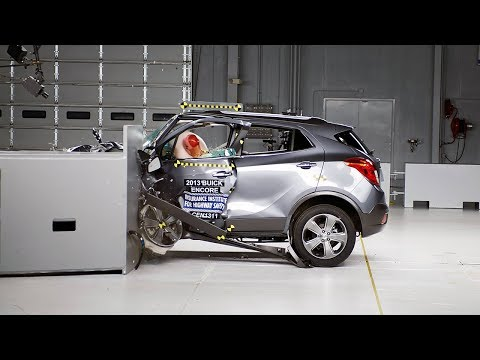 2013 Buick Encore small overlap test