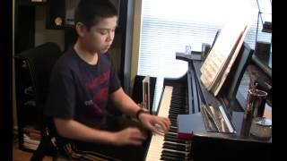 Mark Russ age 11 plays  Rhapsodie  by Eckstein