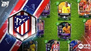 FULL ATLETICO MADRID SPECIAL CARD SQUAD! | FIFA MOBILE