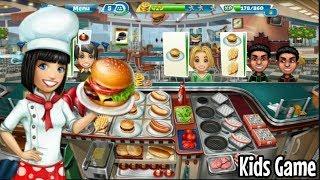 Game Anak Lucu Cooking Fever | Main Masak Masakan Mainan Anak Perempuan | Kids Game