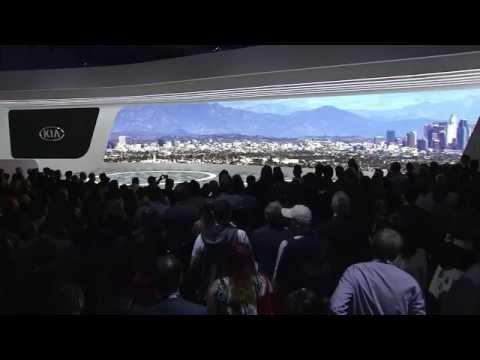 Kia Press Conference at the 2015 LA Auto Show