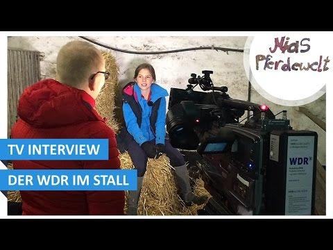 TV Interview - Mit dem WDR im Stall