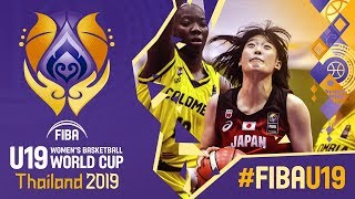 Colombia v Japan - Full Game - FIBA U19 Women's Basketball World Cup 2019