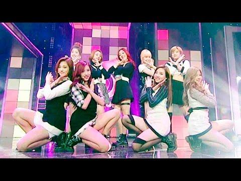 《LOVELY》 TWICE(트와이스) - OOH-AHH하게(Like OOH-AHH) @인기가요 Inkigayo 20151115