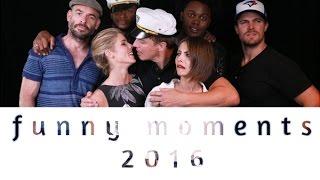 Arrow Cast || funny moments [2016]