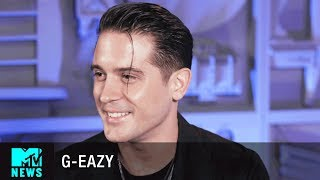 Download Lagu G-Eazy Talks 'Him & I' & Being Obsessed w/ Halsey | MTV News Gratis STAFABAND