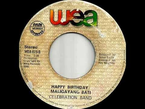 Happy Birthday.maligayang Bati-celebration Band. video