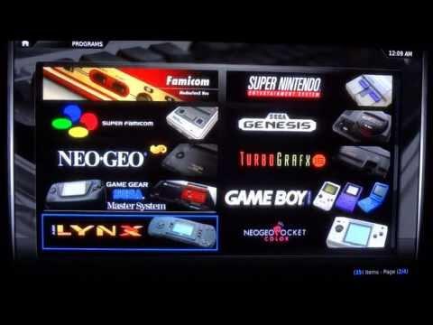 My Original Xbox Setup - XBMC. 720p. and 320gb HD (2013)