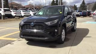 NEW 2019 Toyota Rav4 Hybrid AWD XLE Review 1000 Islands Toyota Brockville