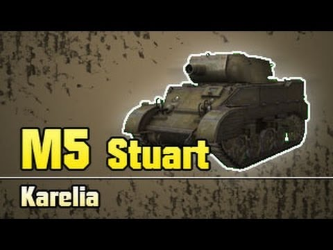 World of Tanks - M5 Stuart - Low tier derping