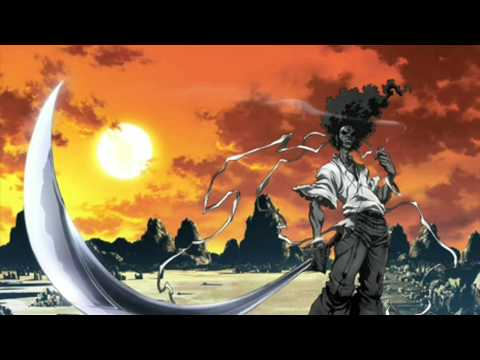 Afro Samurai Resurrection Soundtrack-combat video