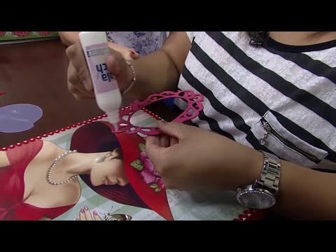 Mulher.com 15/09/2014 - Porta Documentos MDF com Termocolante por Adriana Alves