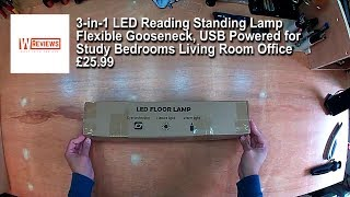 Cheap LED Reading Standing Lamp