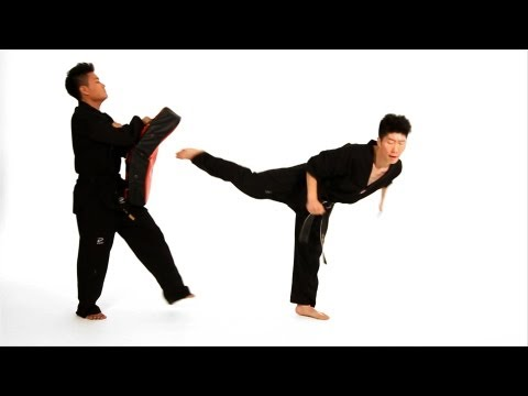 How to Do Back Kick & Jump Back Kick | Taekwondo Training Image 1