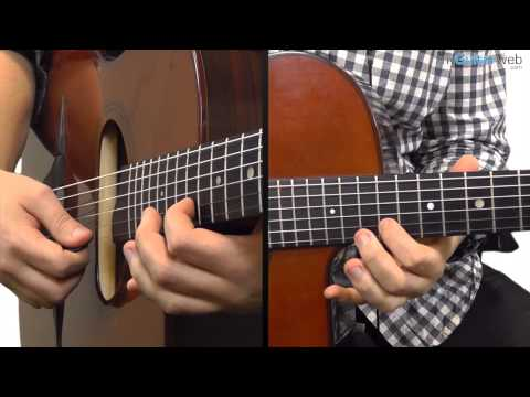 Guitar Lesson: Gypsy Jazz Lick In D Major No 5 - With A Backingtrack