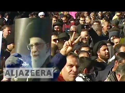 Iran protests: Pro-government demonstrations held 🇮🇷