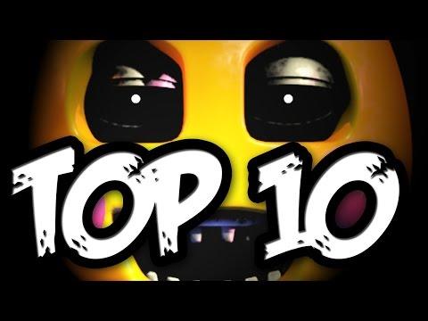 Топ 10 Аниматроников - Five Nights At Freddy's
