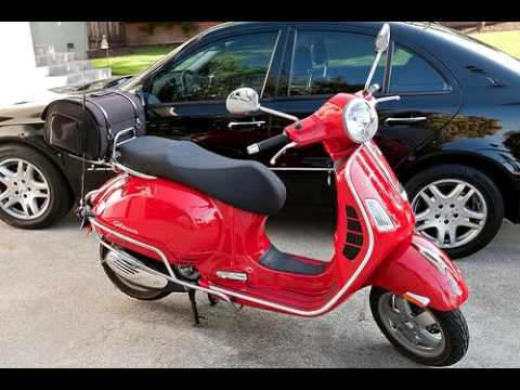 Ham Radio Scooter (2m, 70cm) - Vespa GTS 250ie and Yaesu FTM 10R